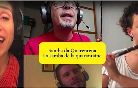 samba da quarentena samba de la quarantaine - pandemie 2020 vignette